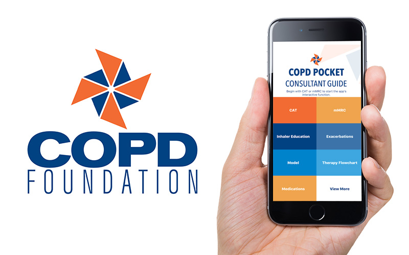 New COPD Pocket Consultant Guide App