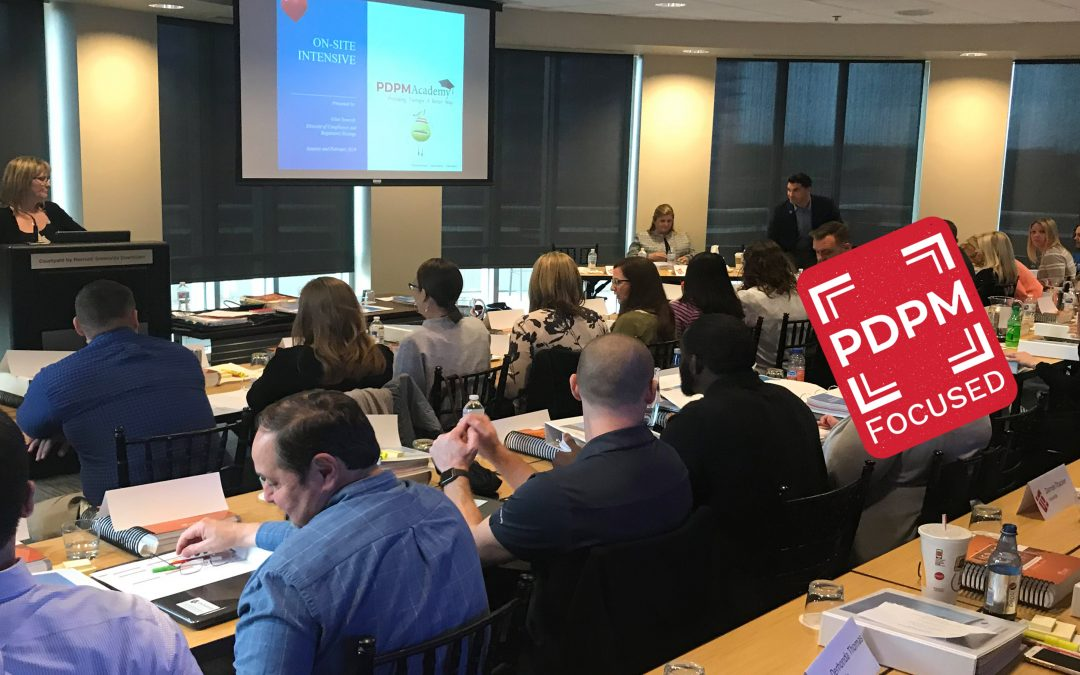 PDPM Intensive Training Sessions Score High Marks on Participant Surveys