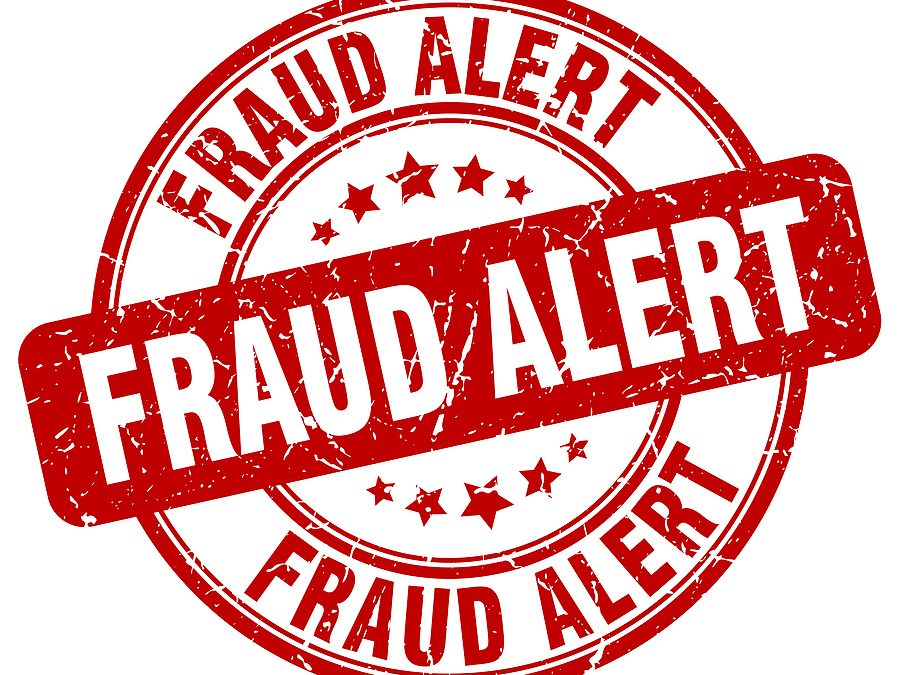 FRAUD ALERT!  Fraud Schemes Related to COVID-19